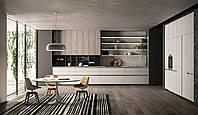 Кухня на заказ без ручек в стиле минимализма. Новинка  , фото 1