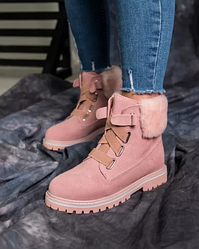 Ботинки UGG D&K Sheepskin Pink