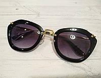 Очки женские солнцезащитные в стиле  Miu Miu Noir