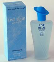 Туалетная вода Live Blue 100ml, фото 2