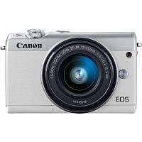 Цифровой фотоаппарат Canon EOS M100 15-45 IS STM Kit White (2210C048)