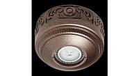 Латунный потолочный накладной светильник ROMA, белый матовый