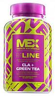 Жиросжигатель MEX Nutrition CLA + Green Tea 90 капсул