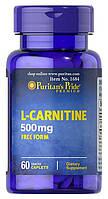 Жиросжигатель Puritan's Pride L-Carnitine 500mg - 60 капсул