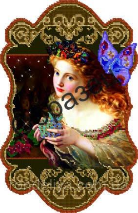 Схема для вишивки бісером «Чарівниця»