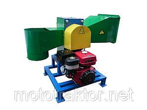 Рубильна машина подрібнювач гілок під бензиновий двигун