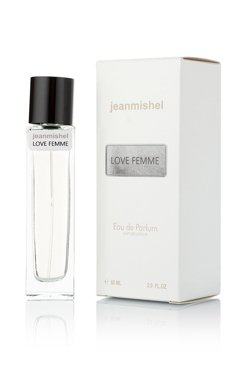 JEANMISHEL LOVE FEMME EDP 60ML(long)