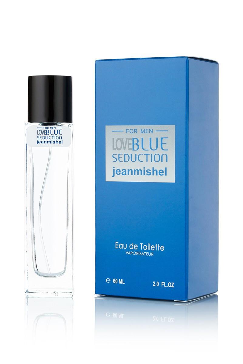 JEANMISHEL LOVE BLUE SEDUCTION FOR MAN EDT 60ML (long)