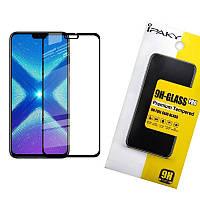 Защитное стекло iPaky  для Huawei Honor 8X Черный (iP3716)