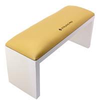Подлокотник для маникюра на ножках STALEKS Gold (32*11*15)