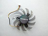 Вентилятор №8 (кулер) для видеокарты Gigabyte GT 240 430 440 630 730 PLD08010S12H T128010SL T128010SM