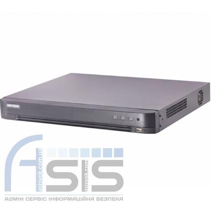 8-канальный Turbo HD видеорегистратор Hikvision DS-7208HQHI-K2/P (PoC)