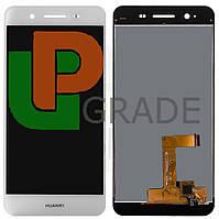 Дисплей (экран)  Huawei Enjoy 5s/GR3 (TAG-L21/TAG-L01/TAG-L03) + тачскрин (сенсор), белый