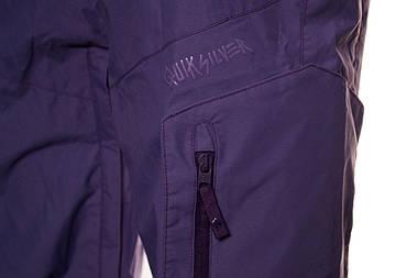 Жіночі гірськолижні штани Quiksilver Autopsy Pant S Violet, фото 3