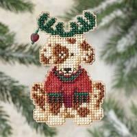 Набор для вышивки Mill Hill Reindog / Собака-олень