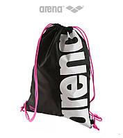 Сумка-мешок для инвентаря Arena Fast Swimbag (Black Fuchsia White)