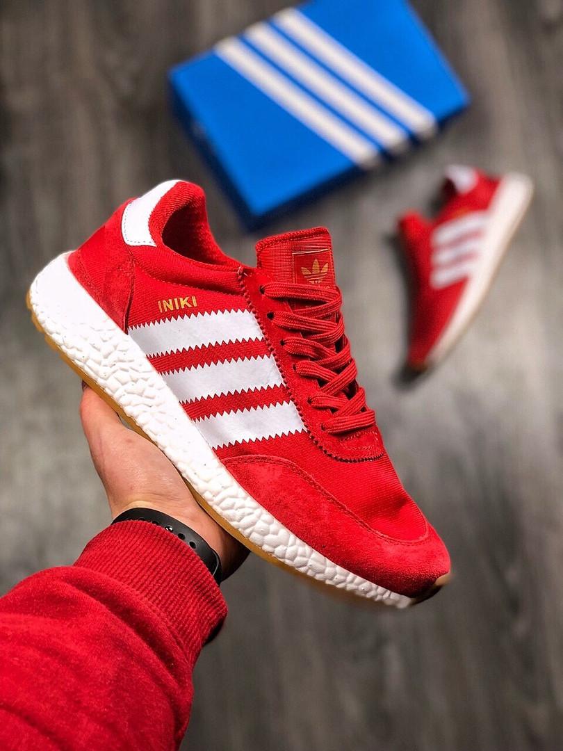 59478450 Мужские кроссовки Adidas Iniki Runner Red - Магазин обуви DRoP24 в Киеве