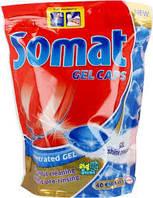 (Обрезана упаковка)Капсулы Somat для посудомоечных машин 20 шт