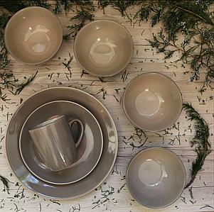 """Набор столовой посуды """"Мерида"""" 16 предметов EZ-2005"""