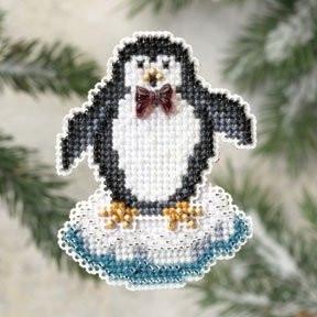 Набір для вишивки Mill Hill Proud Penguin / Гордовитий пінгвін