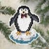 Набор для вышивки Mill Hill Proud Penguin / Горделивый пингвин