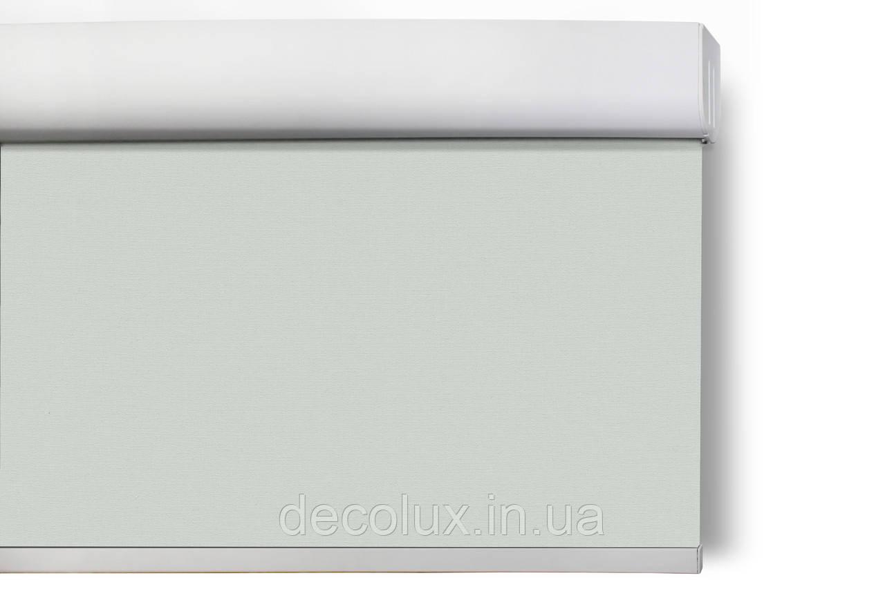 Ролеты на пружине Reflex Серый (Cordless) с солнцеотражающим экраном