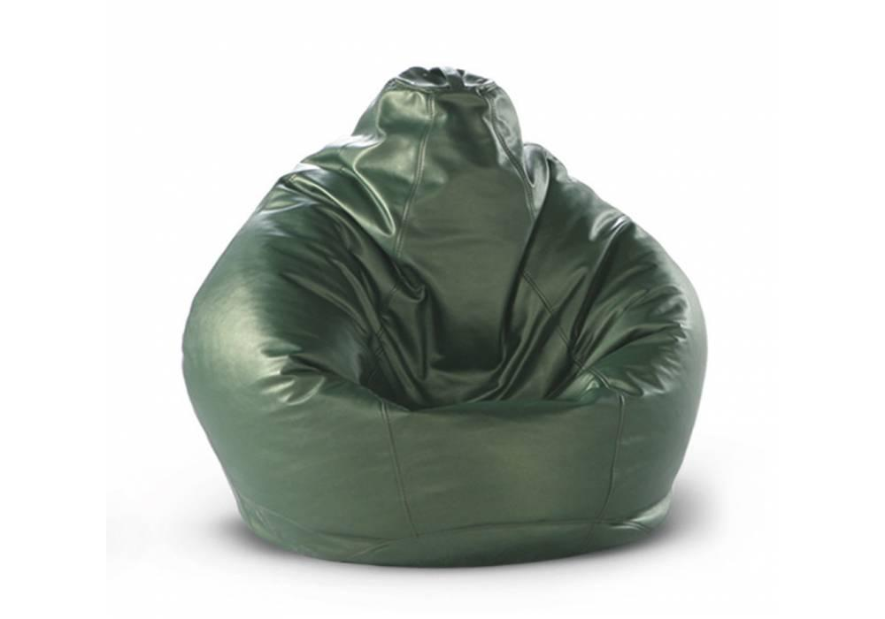 Кресло-груша H-100 см зеленое
