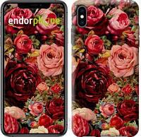 "Чехол на iPhone XS Max Цветущие розы ""2701c-1557-18062"""