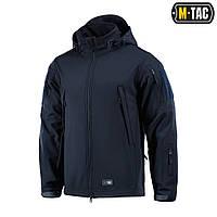 Куртка непромокаемая Soft Shell M-Tac navy blue