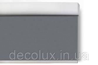 Ролеты на пружине Reflex Темно Серый (Cordless) с солнцеотражающим экраном