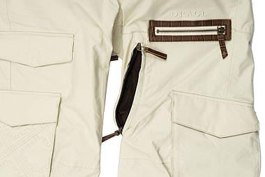 Жіночі гірськолижні штани Orage Jam HPM40 S Grey, фото 2