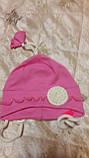 Шапочка для новорожденного  р.46-48  Украина Габби, фото 2