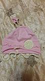 Шапочка для новорожденного  р.46-48  Украина Габби, фото 4