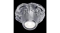 Латунный потолочный накладной светильник CHIANTI, якрий хром