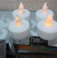 Электронная светодиодная свеча с желтым пламенем