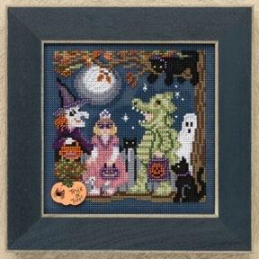 Набір для вишивки Halloween Night Mill Hill