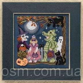 Набор для вышивки Halloween Night Mill Hill