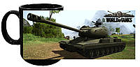 Чашка World of Tanks 17 (чёрная)