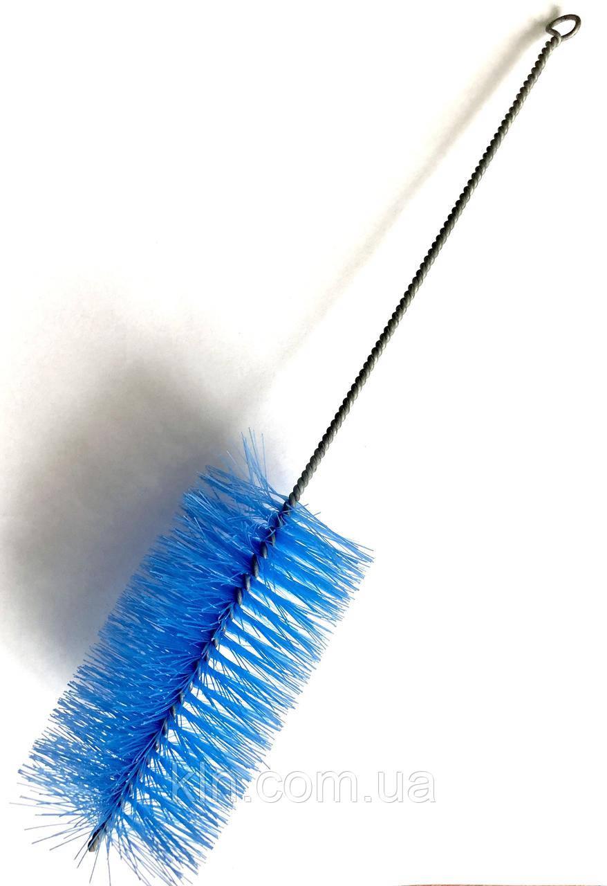 Ершик для чистки колбы (цвет синий) 1 шт.