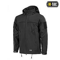 Куртка непромокаемая Soft Shell M-Tac Police black XXL, фото 1