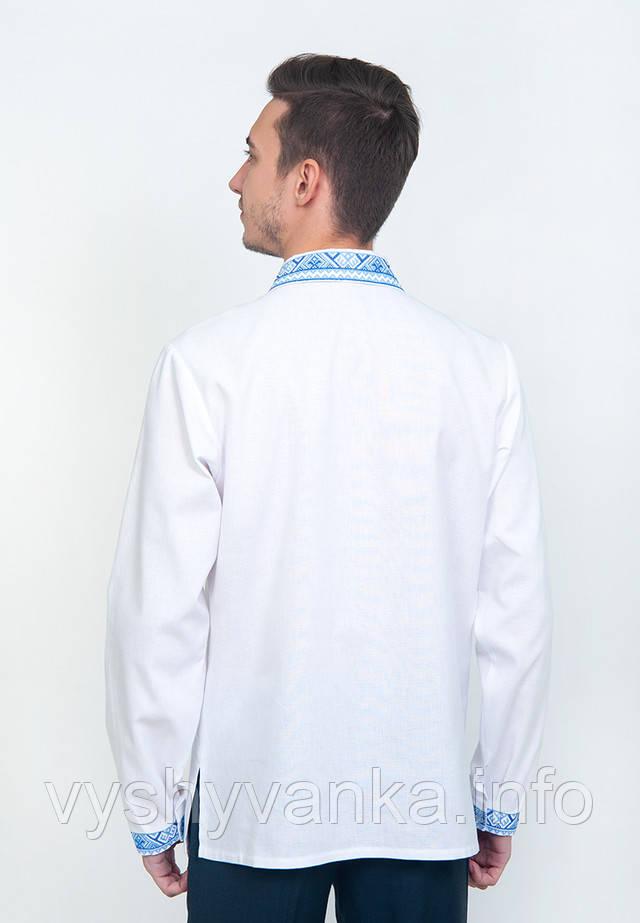 вышитая сорочка с рубашечным воротником