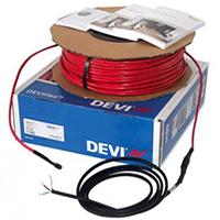 Нагревательный двухжильный кабель DEVIflex 18T 0,9 кв.м