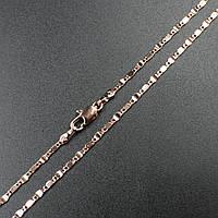 """Цепочка """"Рюбан"""" Xuping Jewelry (позолота). L-40 см d-0.2 см"""