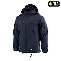 Куртка непромокаемая Soft Shell M-Tac Police navy blue L
