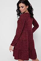 Женское теплое платье свободного кроя (Missy fup), фото 3