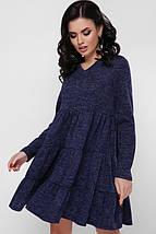Женское теплое платье свободного кроя (Missy fup), фото 2