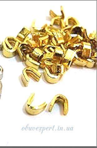 Обмежувач верхній для блискавки Т.5 Золото (50 шт)