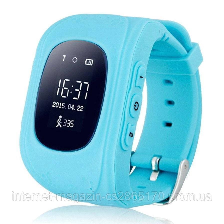 UWatch Q50 Kid smart watch Blue