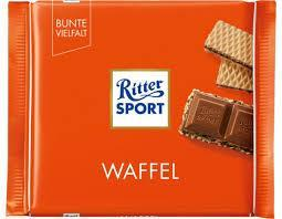 Шоколад Ritter Sport молочный Waffel