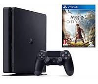 Игровая приставка Sony Playstation 4 Slim 500GB + Assassin's Creed: Odyssey